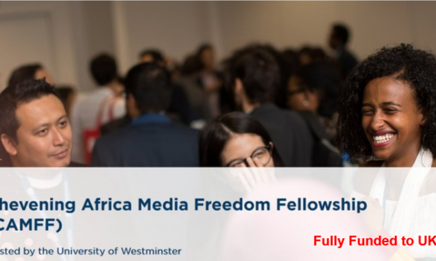 Chevening Africa Fellowship 2020 [Fully Funded to UK]