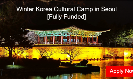 Winter Korea Cultural Camp 2020 in Seoul, Korea [Fully Funded]