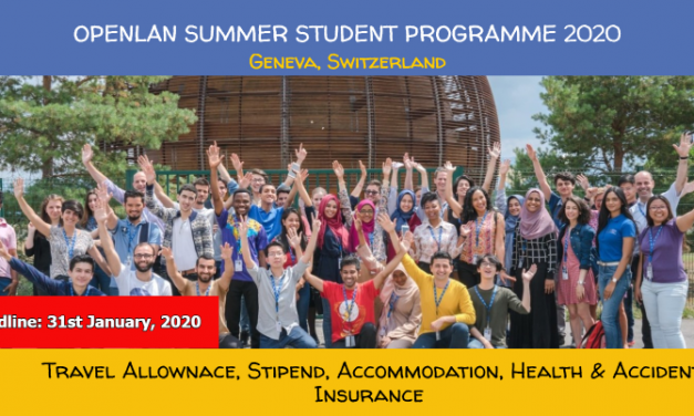 CERN Openlab Summer Student Program 2020 – 9 Weeks in Switzerland