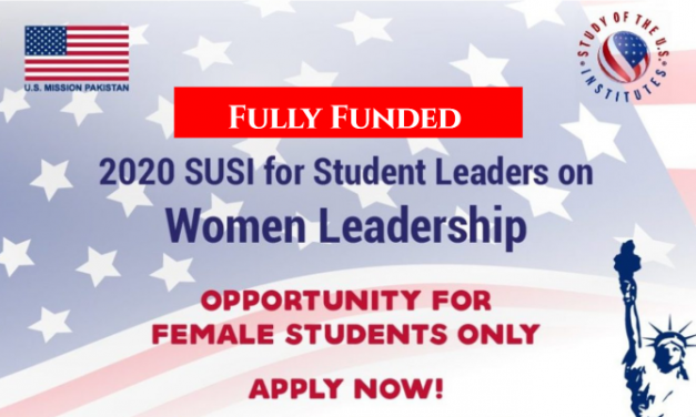 2020 SUSI Women Leaders Summer Exchange Program in the USA [Fully Funded]