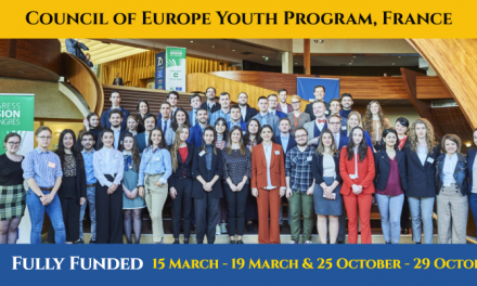 Council of Europe Youth Program 2020 in France [Fully Funded]