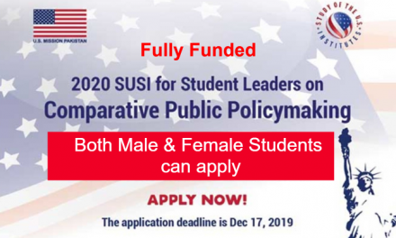 SUSI 2020 Summer Exchange Program in the USA – Fully Funded