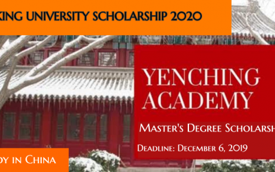 Peking University Scholarship 2020 in China [Fully Funded]