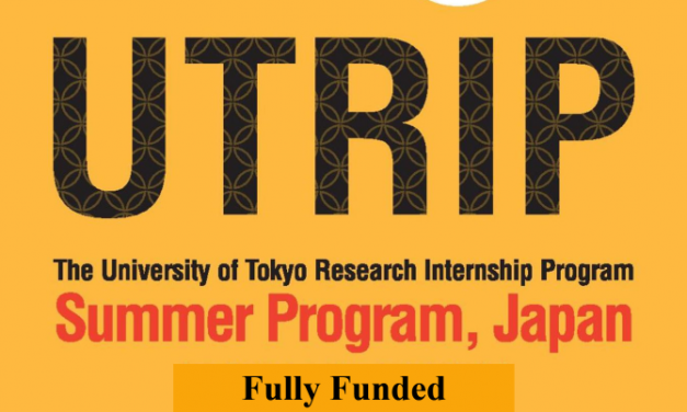 UTRIP Summer Internship 2020 in Tokyo, Japan [Fully Funded Internship]