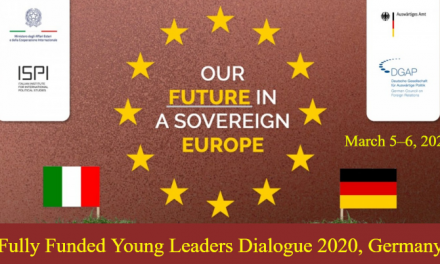 Young Leaders Dialogue 2020 in Berlin, Germany [Fully Funded]