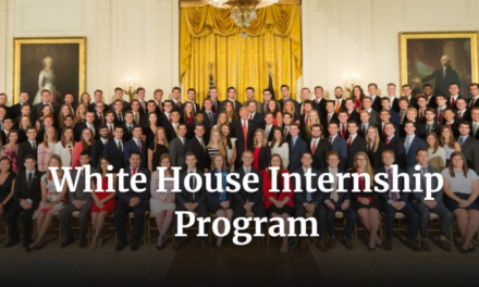 White House Internship 2020 in the United States of America