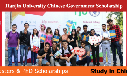 Tianjin University Chinese Government Scholarship 2020 [Fully Funded]