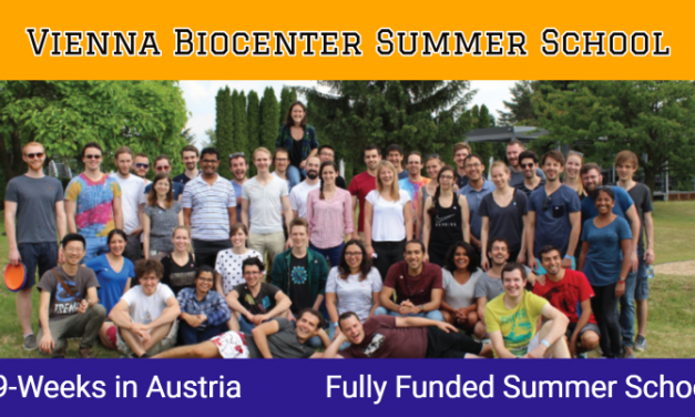 Vienna Biocenter Summer School in Austria 2020 – Fully Funded