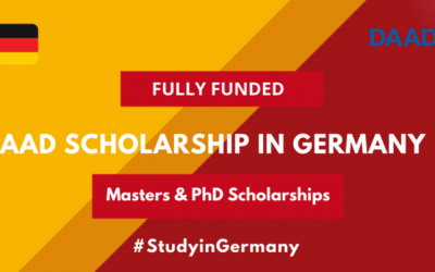 DAAD Scholarship in Germany 2020-21 for Masters & PhD [Fully Funded]