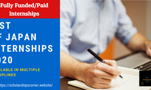 List of Japan Internships 2020 – Available in Multiple Disciplines