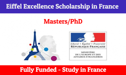 Eiffel Excellence Scholarship 2020 by French Government [Fully Funded]