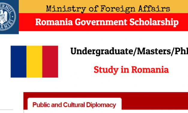 Romania Government Scholarship 2020 – Study in Romania