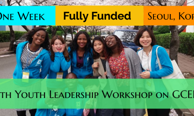 UNESCO Youth Leadership Workshop 2020 in South Korea [Fully Funded]