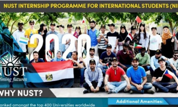 NUST Internship for International Students 2020 (NIPIS)