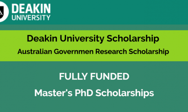 Deakin University Scholarship in Australia 2021 [Fully Funded]