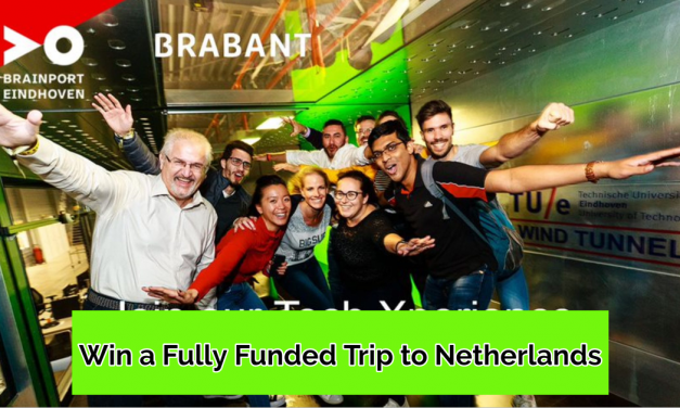 International Tech Competition 2020 [Win a Fully Funded Trip to the Netherlands]