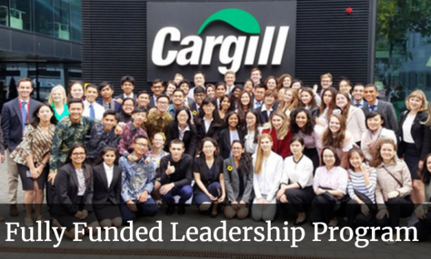 Cargill Global Scholars Program 2020 – Fully Funded Leadership Program