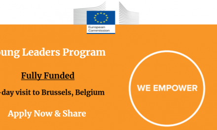 Young Leaders Programme 2020 in Brussels, Belgium – Fully Funded EDD 2020