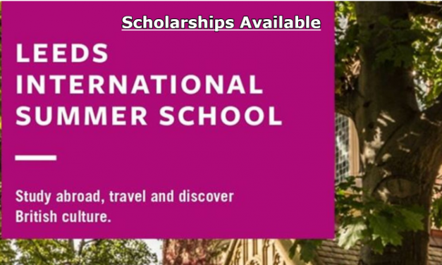 Leeds International Summer School 2020 in UK – Scholarships Available