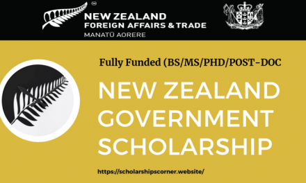 New Zealand Government Scholarship 2020-2021 [Fully Funded]
