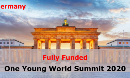 International Youth Summit Germany 2020 – Fully Funded