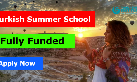 Turkish Summer School 2020 by Yunus Emre Institute [Fully Funded]