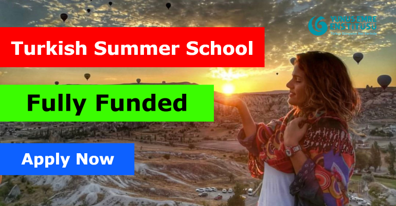 Image result for Turkish Summer School 2020 (Fully Funded) Yunus Emre Institute Summer School