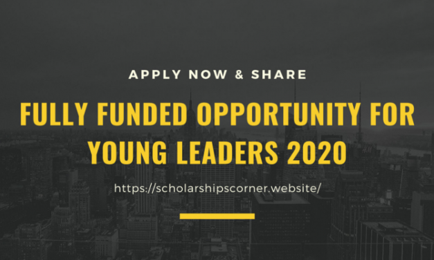 Fully Funded Opportunity for Young Leaders 2020 – Apply Now