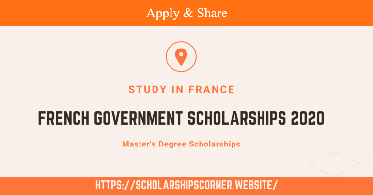 French Government Scholarships