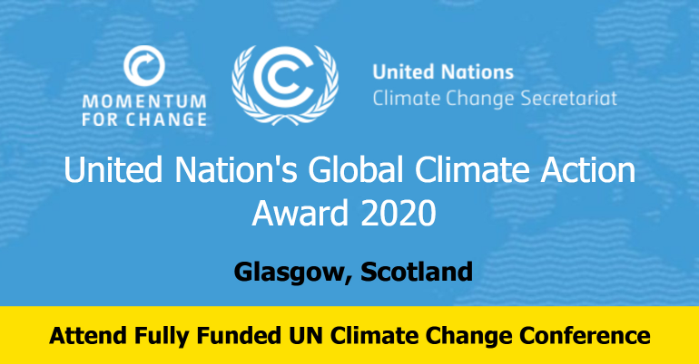 Global Climate Action Award