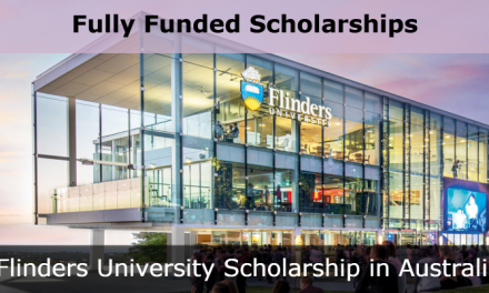Flinders University Scholarship 2020 in Australia – Fully Funded Australian Government Research Training Program Scholarship