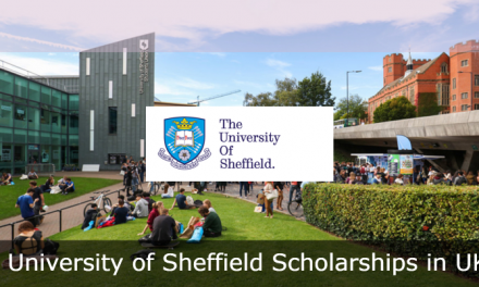 University of Sheffield Scholarships for International Students in UK