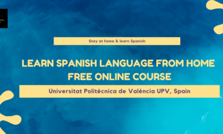 Learn Spanish Language From Home – Free online Course