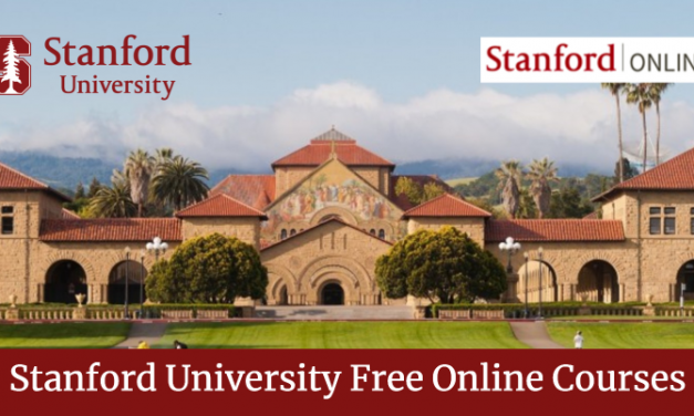 Stanford University Free Courses (Verfied Online Courses)