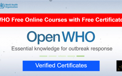 WHO Free Online Courses with Free Certificates | OpenWHO