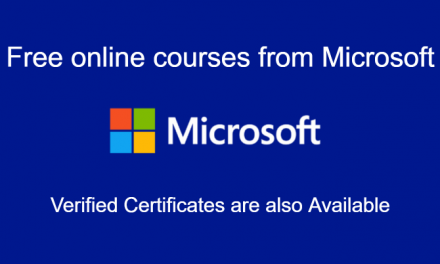 Microsoft Free Online Courses 2020 [Verified Courses]