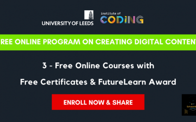 Creating Digital Content Online Program with Free Certificates