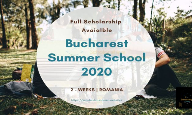 Bucharest Summer School 2020 in Romania [Full Scholarship Available]