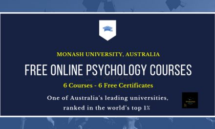 Free Online Psychology Courses from Monash University | Free Certificates