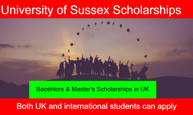 University of Sussex Scholarships 2020 in United Kingdom