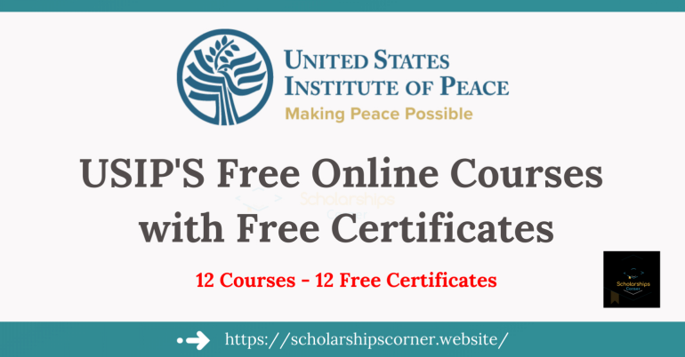USIP Free Online Courses with Free Certificates | Online Learning