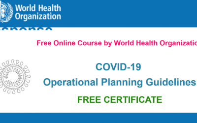 COVID-19 Online Course by WHO – A Free Online Course with Free Certificate