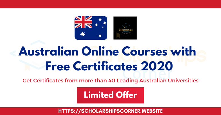 Australian Online Courses with Free Certificates | Limited Offer
