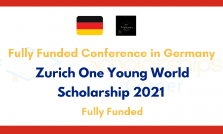 Zurich One Young World Scholarship 2021 [Fully Funded Conference in Germany]