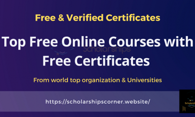 Top Online Courses 2020-21 [Free Courses with Free Certificates]