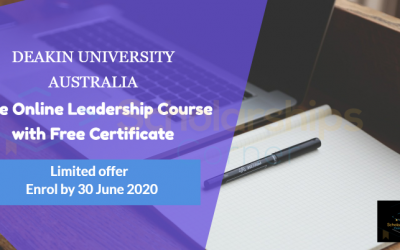 Free Online Leadership Course with Free Certificate from Deakin University