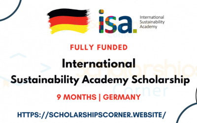ISA Scholarship 2021 in Germany [Full Scholarsip| International Sustainability Academy