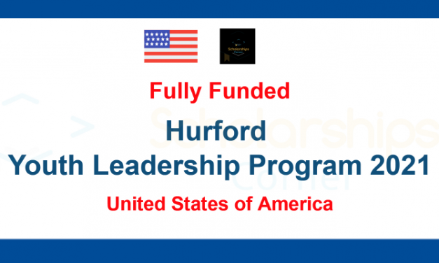 Hurford Youth Leadership Program 2021 in the United States of America [Fully Funded]