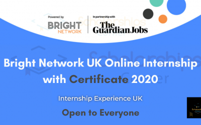 Bright Network Internship Uk 2020 | Free Online Internship in the UK