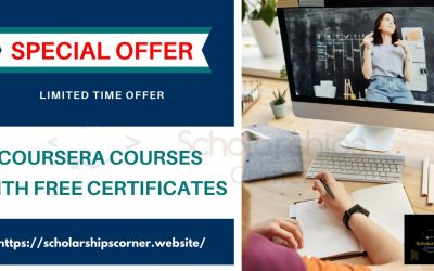 Coursera Courses with Free Certificates [Limited Timed Offer]